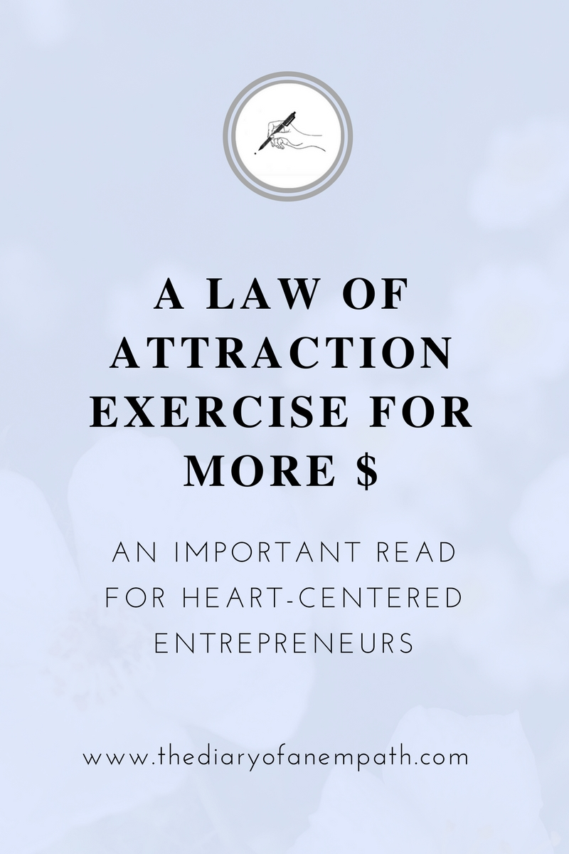 law of attraction tip for more money