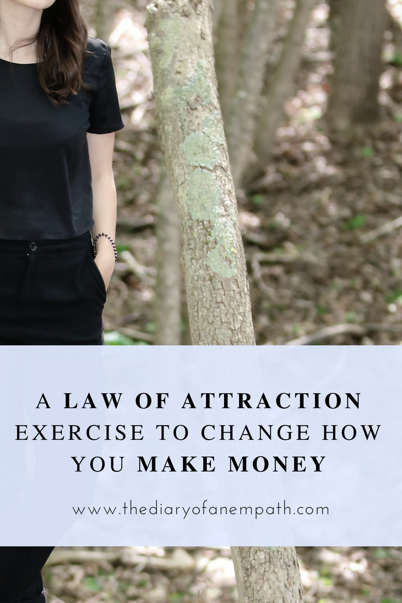 a law of attraction success story and how I use law of attraction tips to make more money