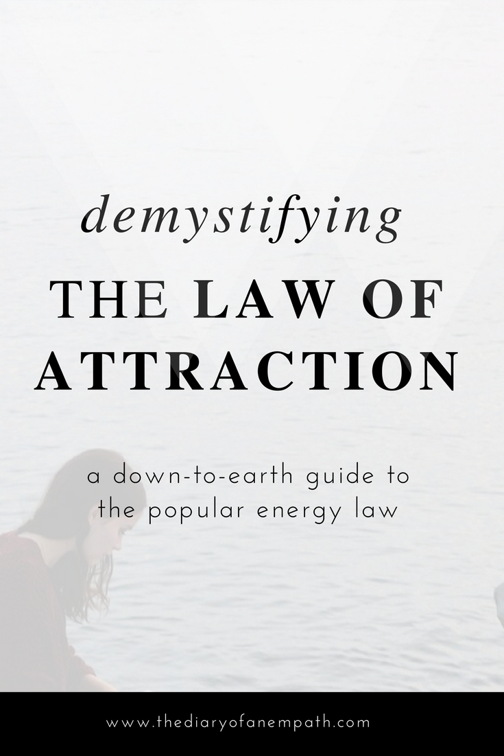 Law of attraction PDF, www.thediaryofanempath.com