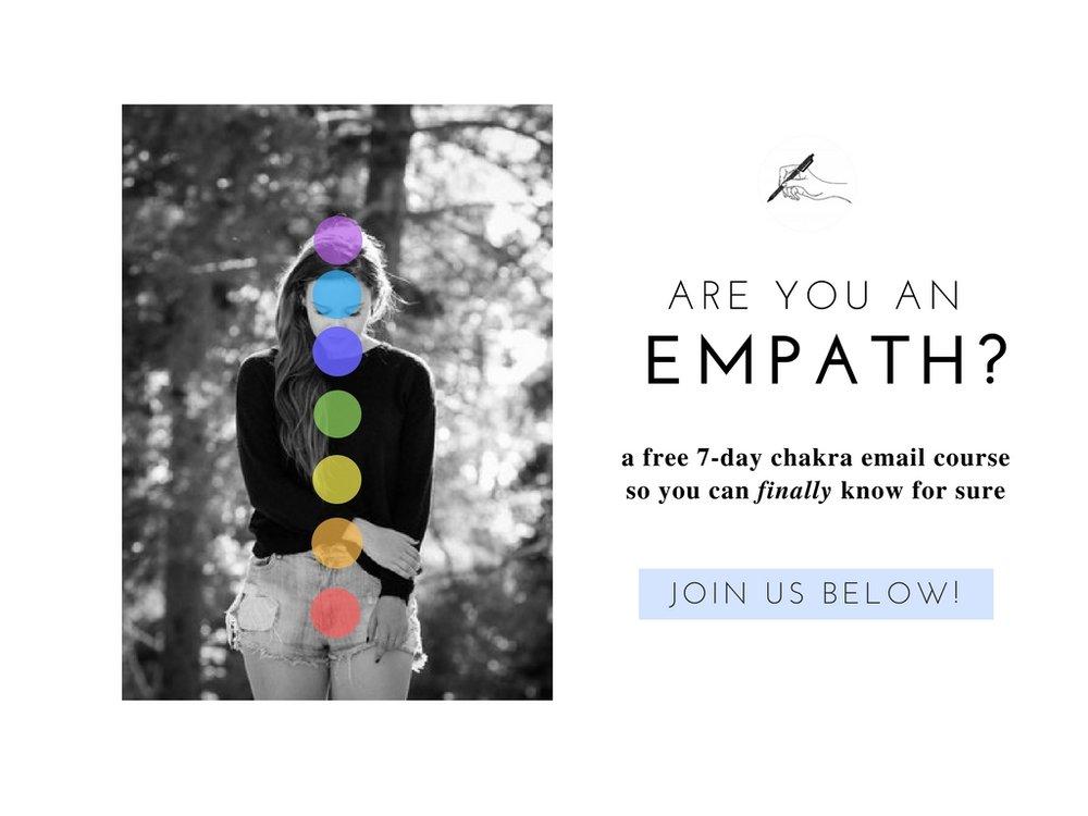 empath chakra course, www.thediaryofanempath.com