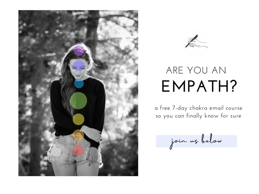 empath chakra course, traits and signs, www.thediaryofanempath.com