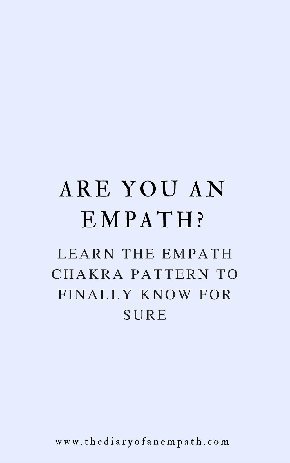 the empath chakra pattern, thediaryofanempath.com