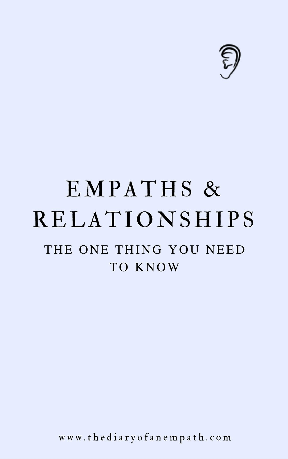 empaths and relationships, thediaryofanempath.com
