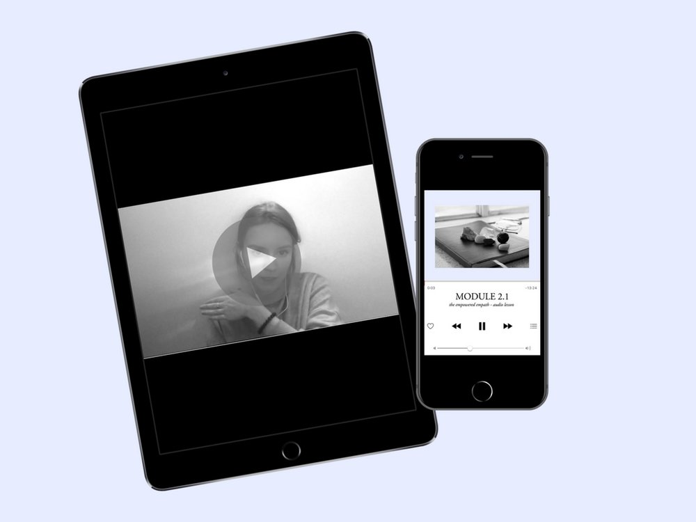 audio and video lessons -