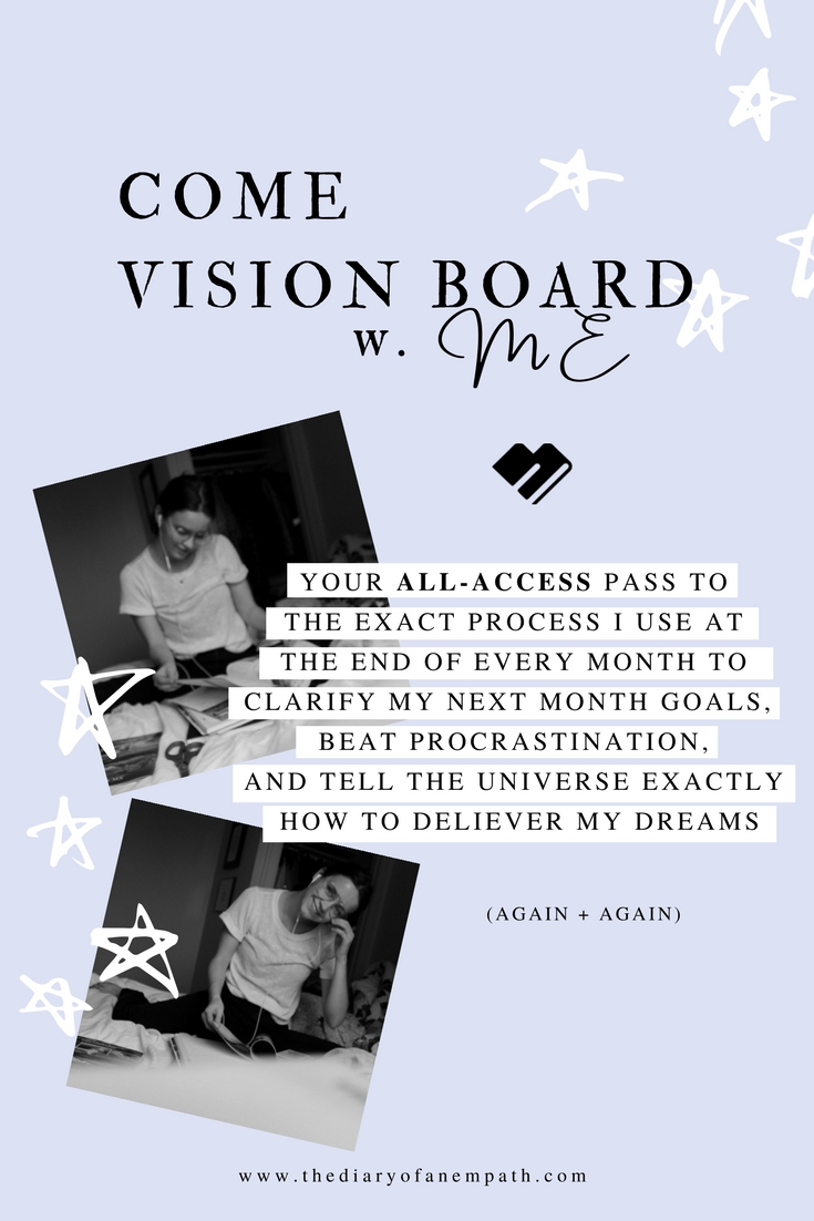 Empaths and Vision Boards