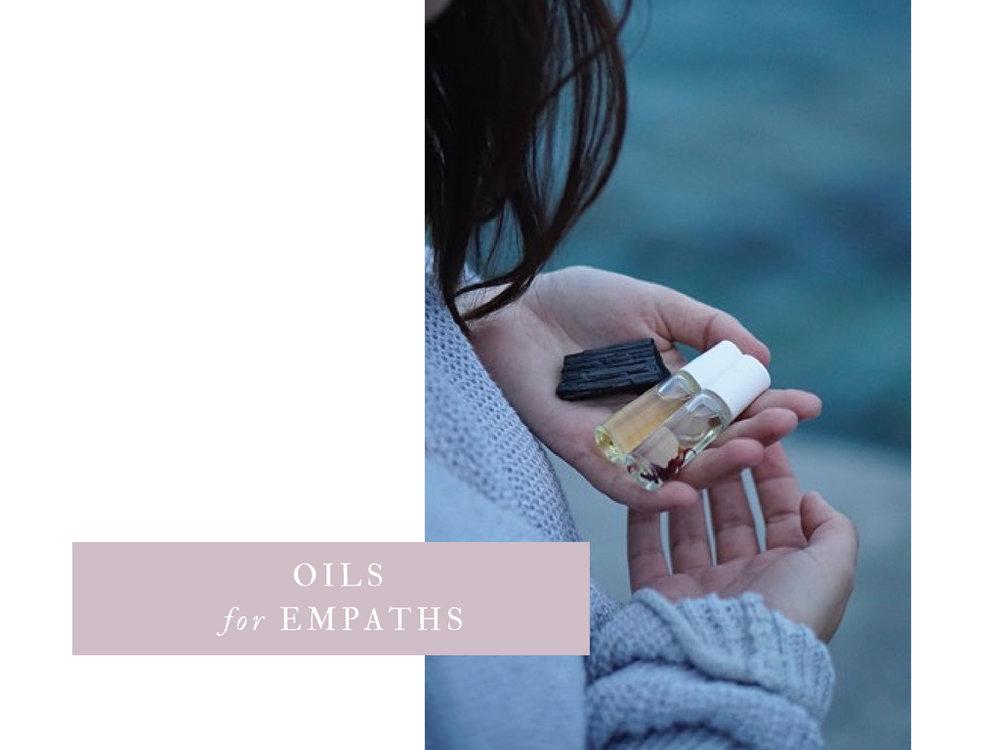essential oils for empaths