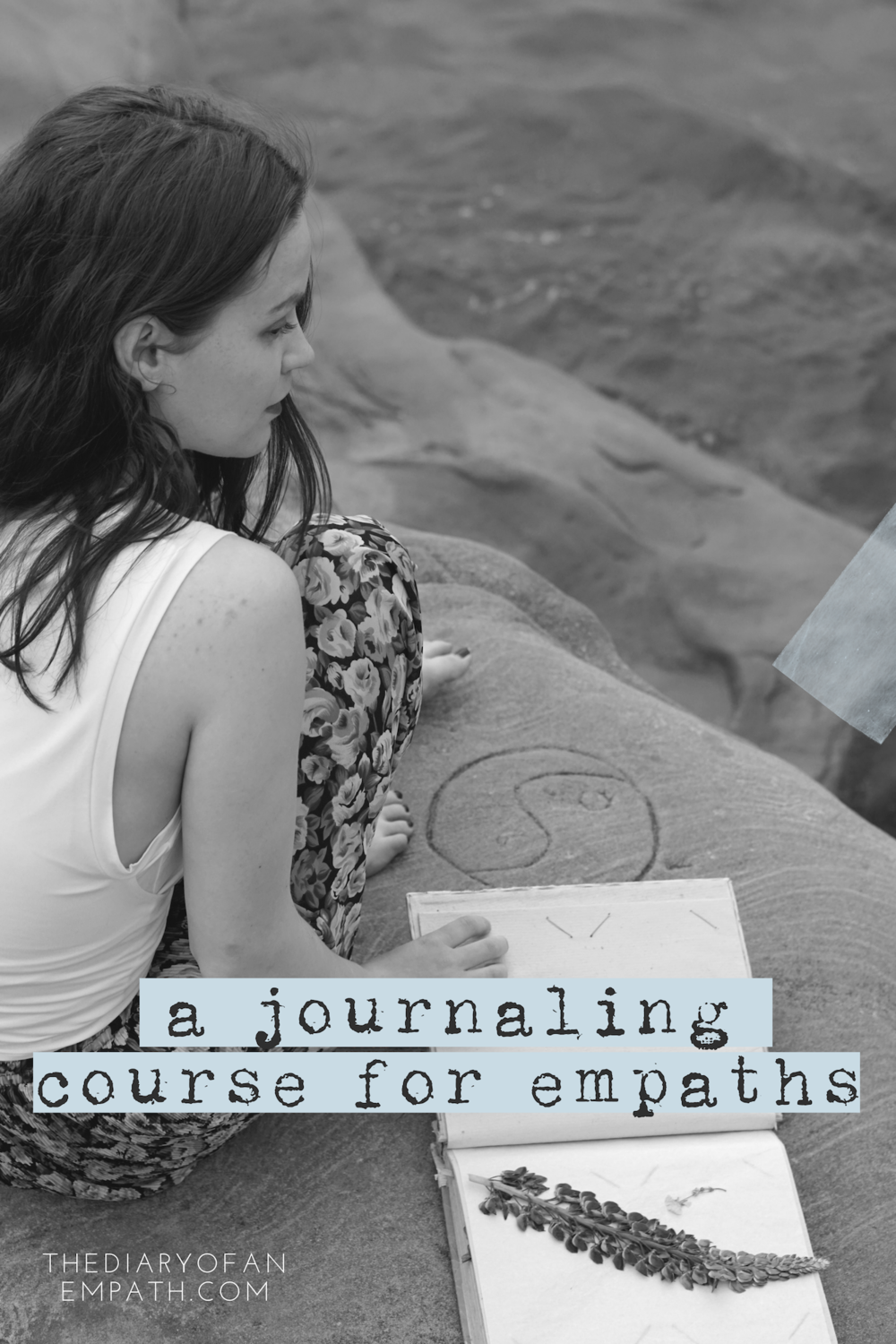 A journaling course designed to get you showing up for yourself again, because up until this point you haven't been. More at www.thediaryofanempath.com/journaling