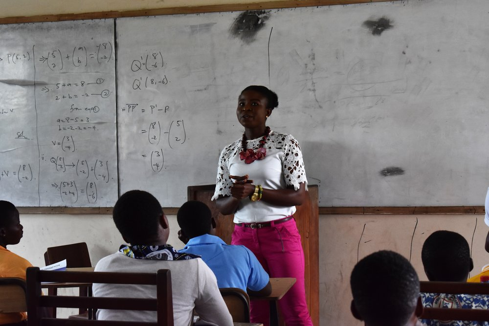 Ms Joyce Owusu inspires participants on entrepreneurship
