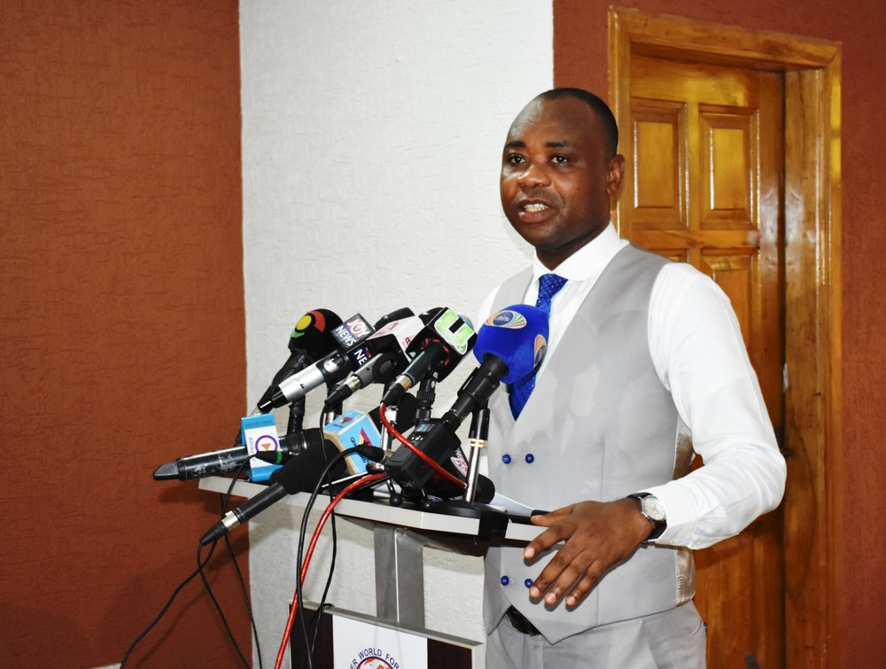 Executive Director, Bright Appiah