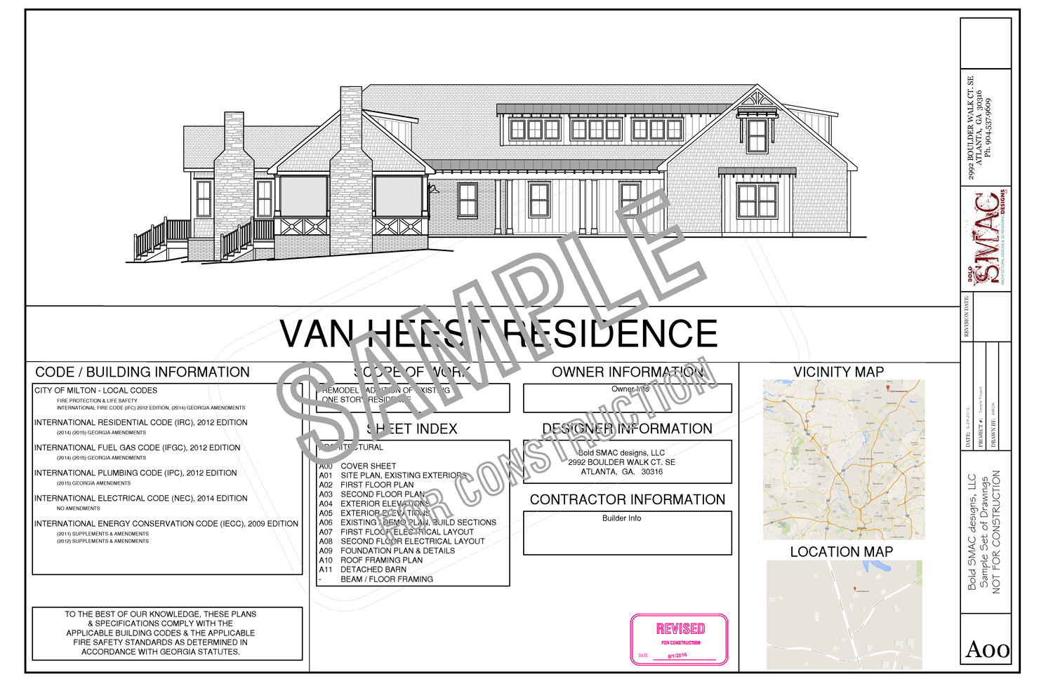 Documents Boutique Architectural Design Firm Sample Of Electrical Plan Layout Set Page 01