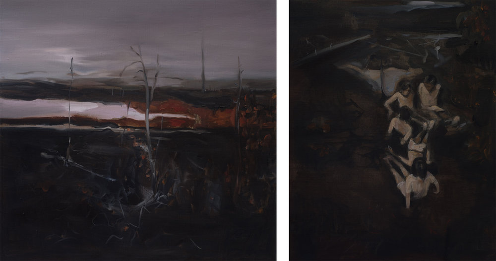 Diptych Black Forest