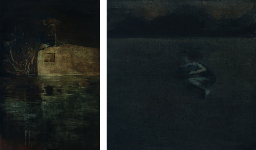 Diptych House by the Lake