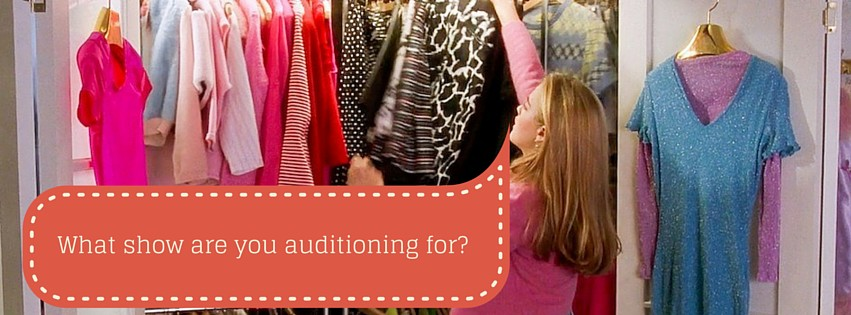 What show are you auditioning for-