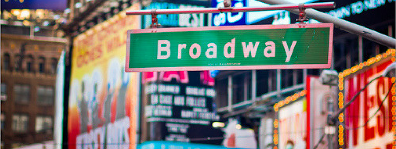Follow Director of Programming,  Anna Terese Stone , on her journey to #BroadwayByJune...