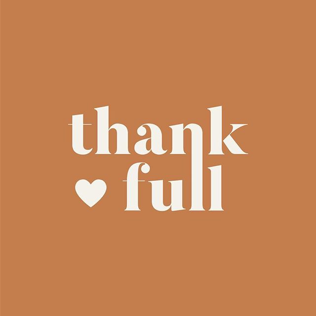 Reflecting today on how grateful I am for all my friends, family and supportive community who continue to inspire me to do more, be better and grow. Thank you for your kindness. Wishing each of you a happy, healthy and very delicious Thanksgiving! May your bellies and hearts feel full. 🍽