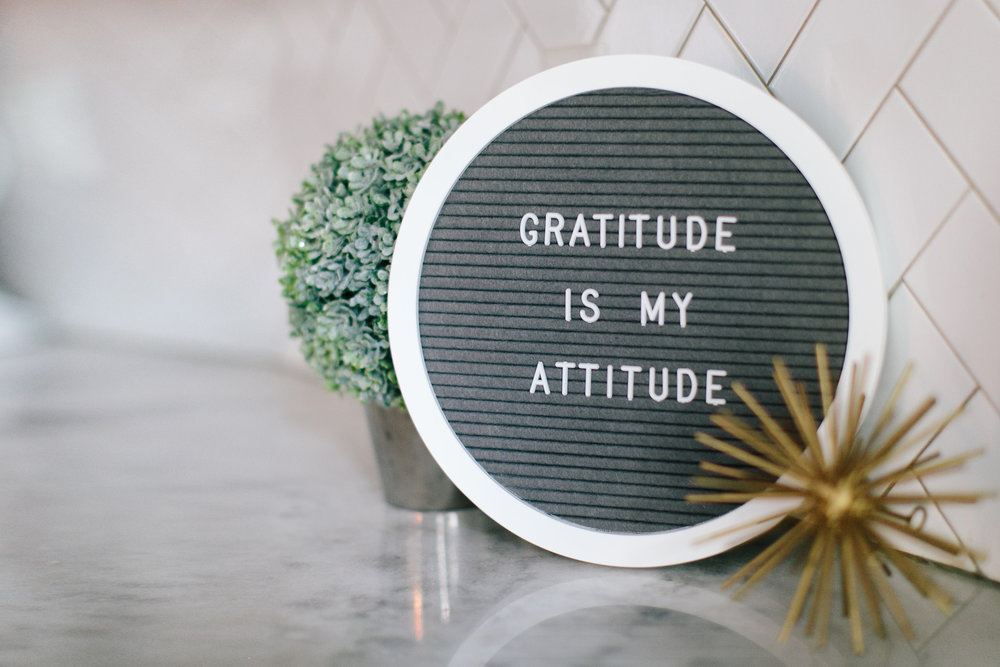 Gratitude - Word Boards available at RB Furniture Shop