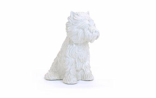 Jeff Koons Puppy Vase Retro Inferno