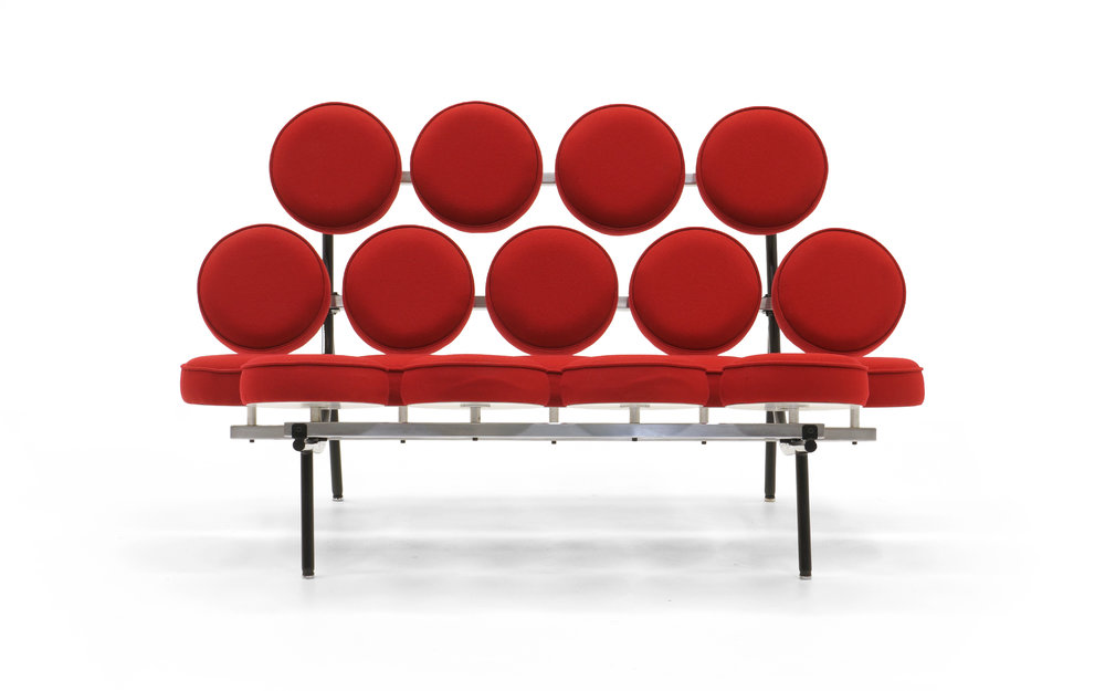 Charmant Irving Harper For George Nelson Marshmallow Sofa Made By Herman Miller