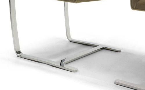 Mies Brno Chair ludwig mies van der rohe flat bar brno chairs for knoll — retro