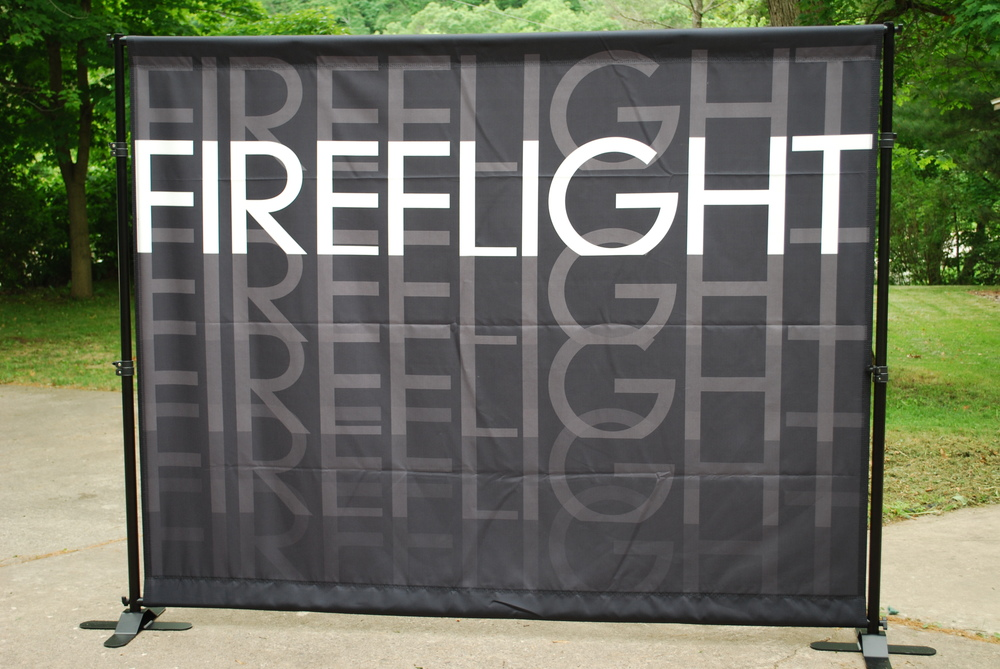 6' x 8' Canvas Band Scrims | Fireflight