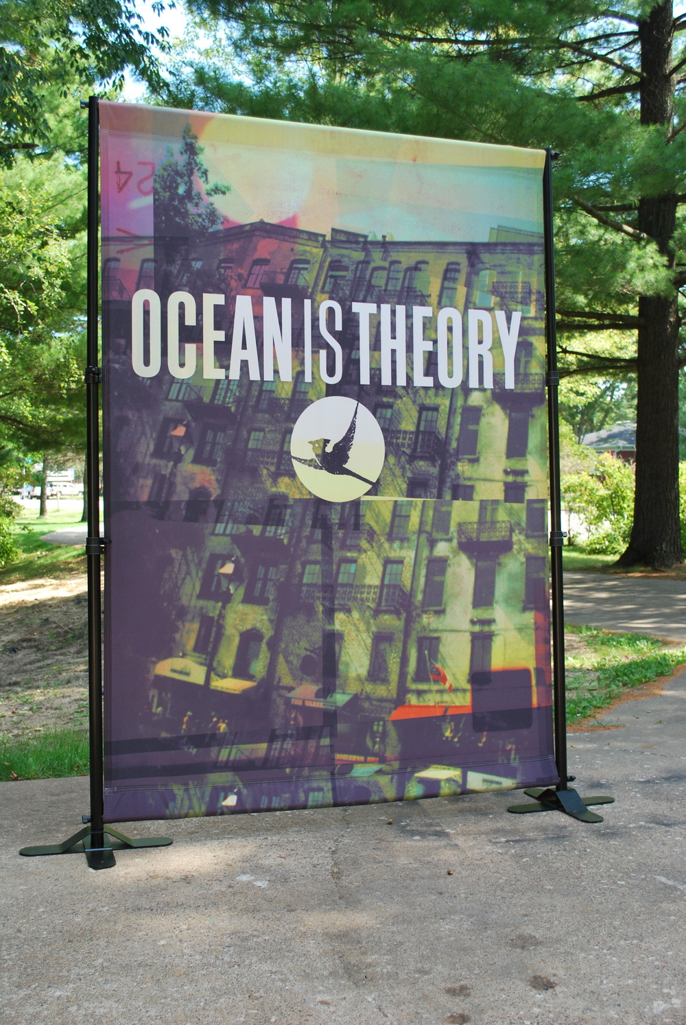 5' x 6' Canvas Band Scrims | Ocean is Theory