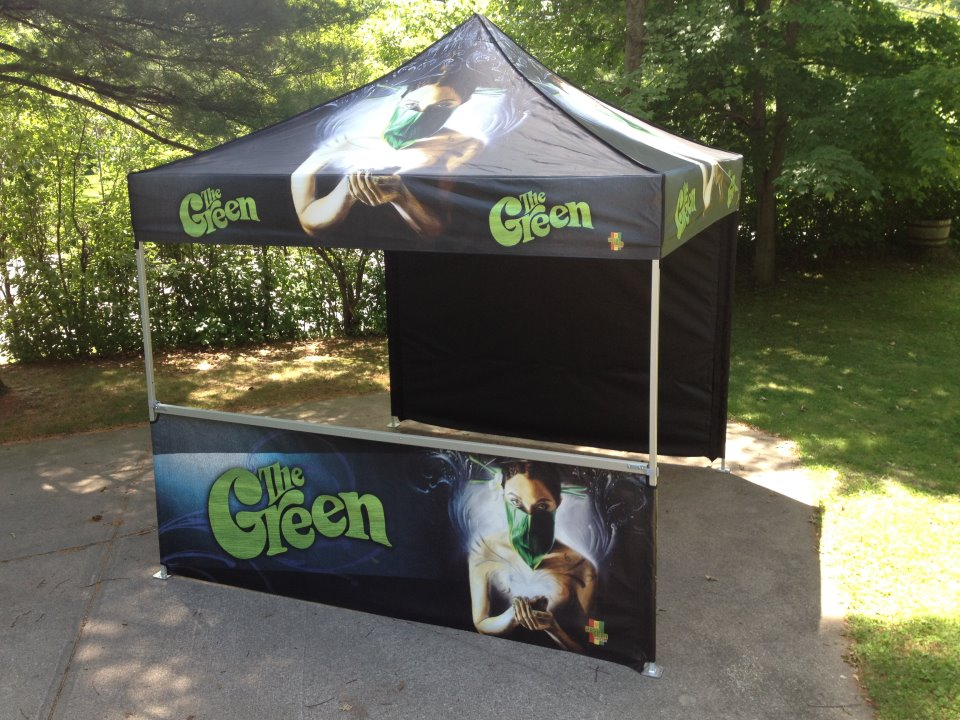 Band Merch Tent | The Green