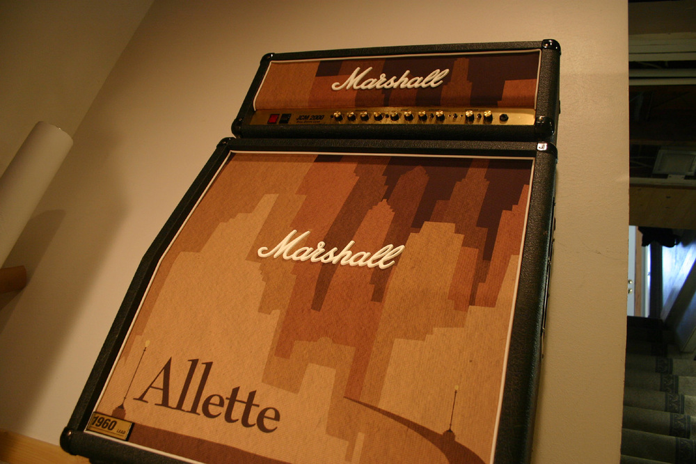 Marshall 1960A Custom Grill Cloth | Allette