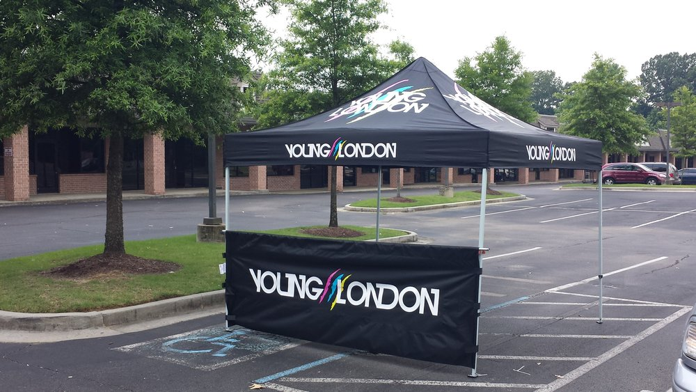 Band Merch Tent | Young London