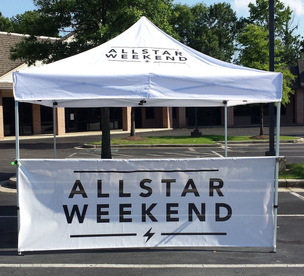 Band Merch Tent | Allstar Weekend