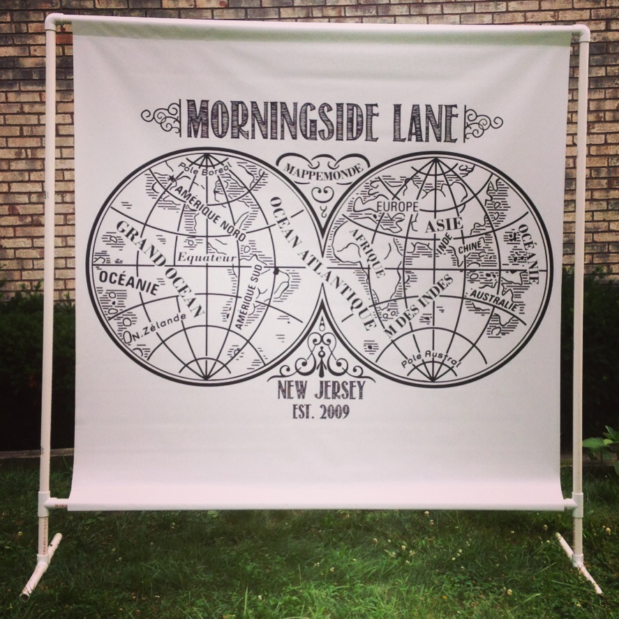 5' x 5' Band Scrims | Morningside Lane