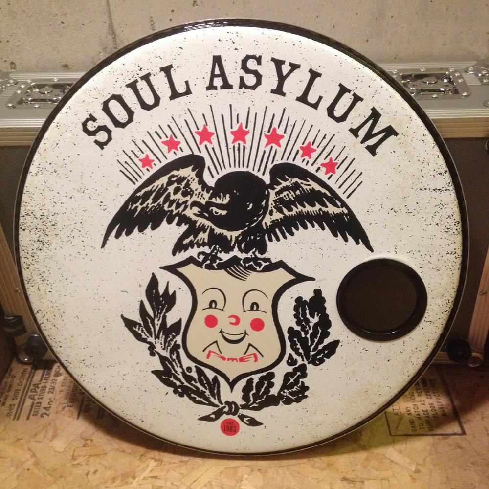 "24"" Custom Drumhead | Soul Asylum"