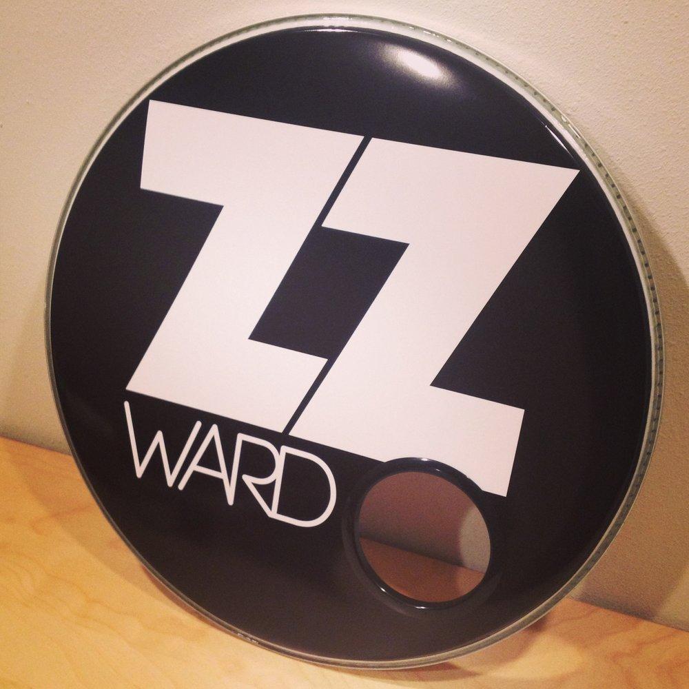 "24"" Custom Drumhead | ZZ Ward"