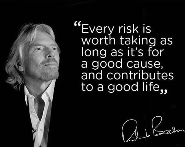Wise words from @richardbranson  #UnreelMedia #ProductionHouse #Motivation #PostProduction #LiveBroadcasting #LosAngels