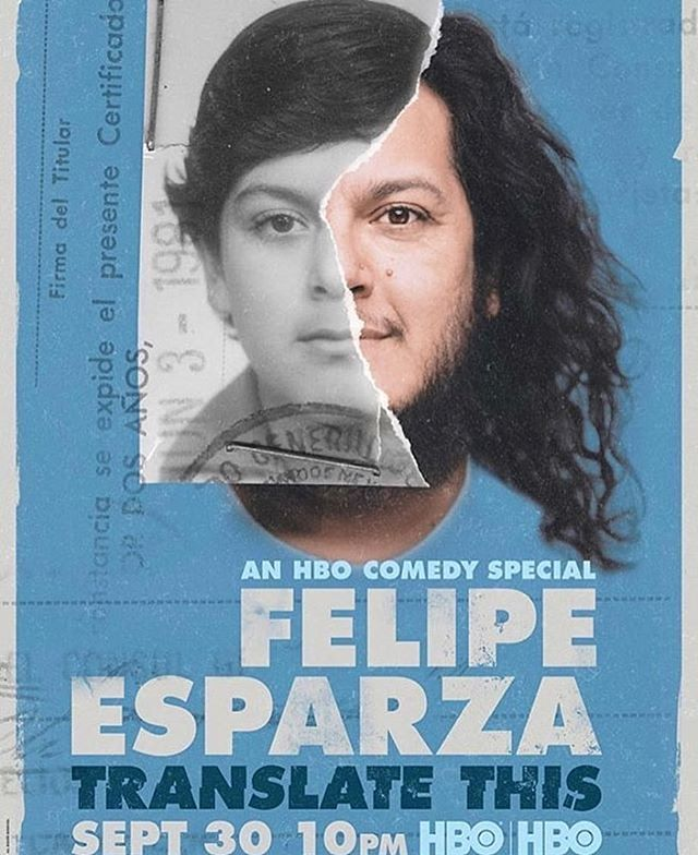 Our latest project premieres tonight on @HBO. 🎬 . . . #UnreelMedia #HBO #FelipeEsparza #Comedy #OneHourSpecial #ComedySpecial