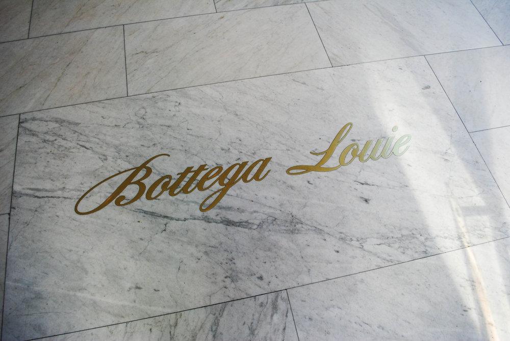 Beautiful floor at Bottega Louie, Downtown Los Angeles, CA