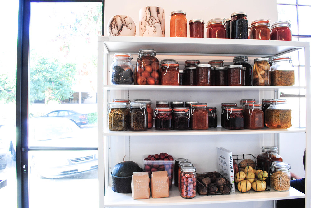 Jars upon jars of delicious things, Destroyer, Culver City, CA