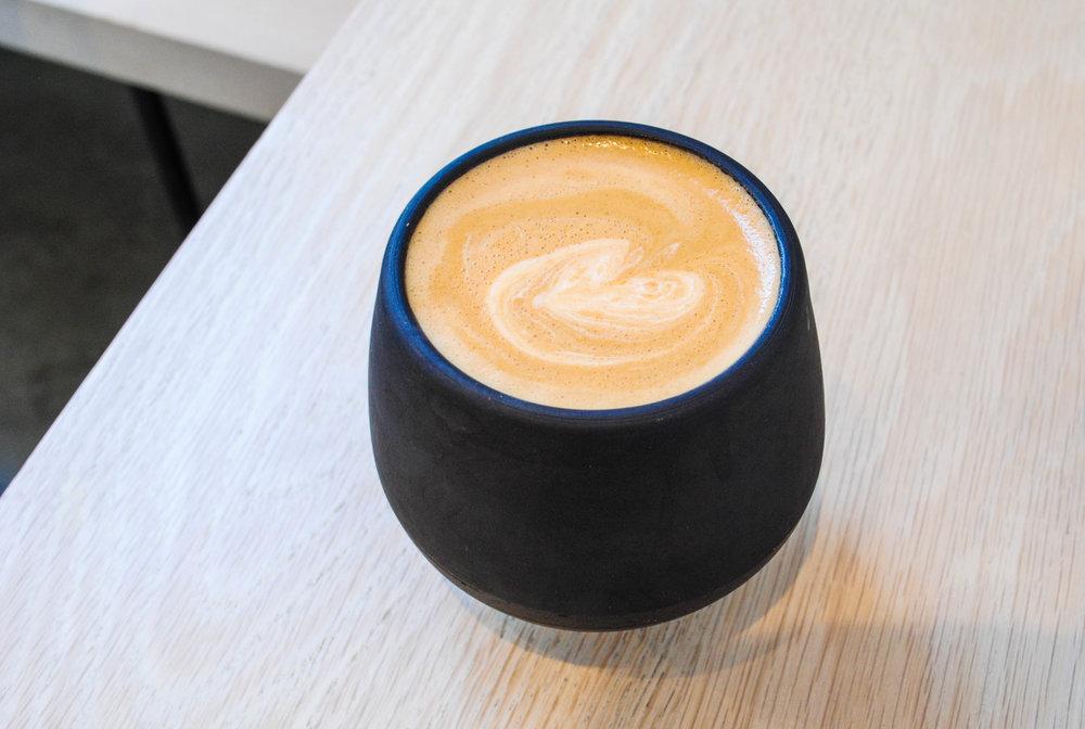 Almond Milk Cappuccino, Destroyer, Culver City, CA