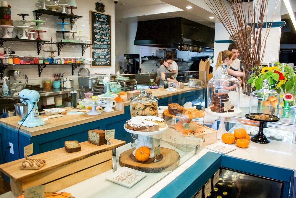 Inside Claudine Artisan Kitchen & Bakeshop, Encino, CA