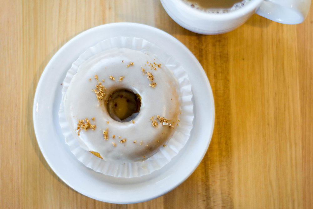 Pumpkin Donut at Claudine Artisan Kitchen & Bakeshop, Encino, CA