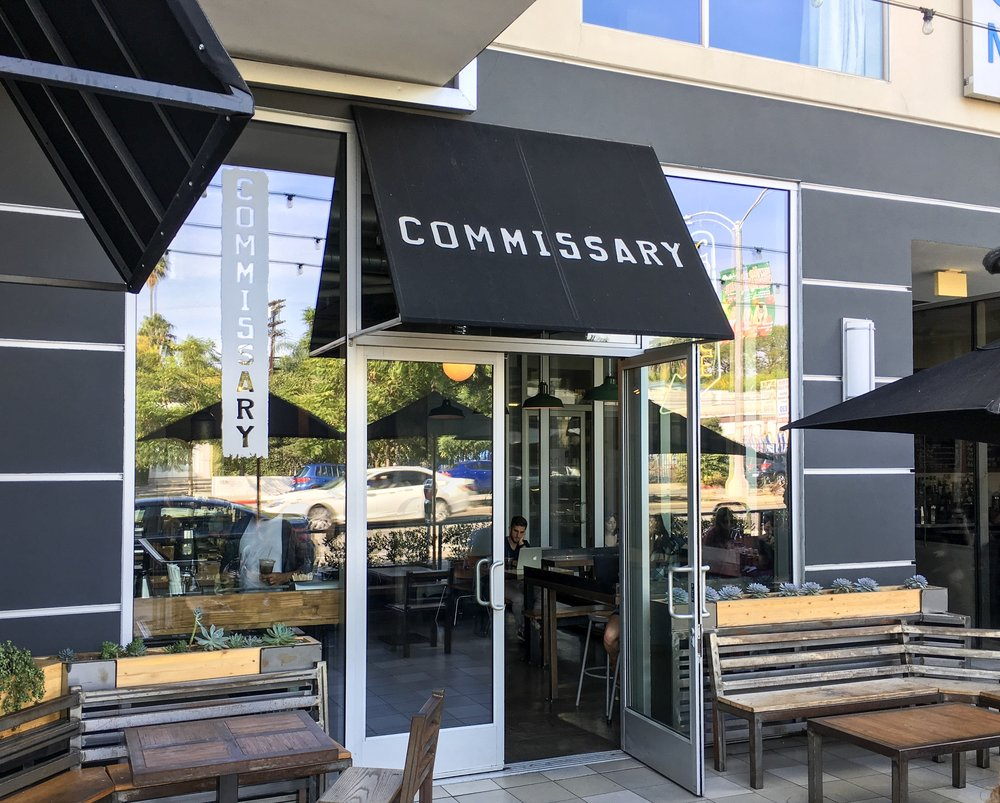 Entrance to Coffee Commissary, Los Angeles, CA