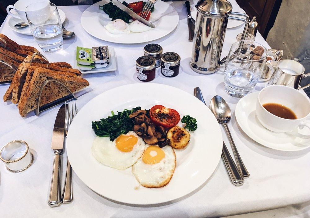Breakfast at The Kennard, Bath
