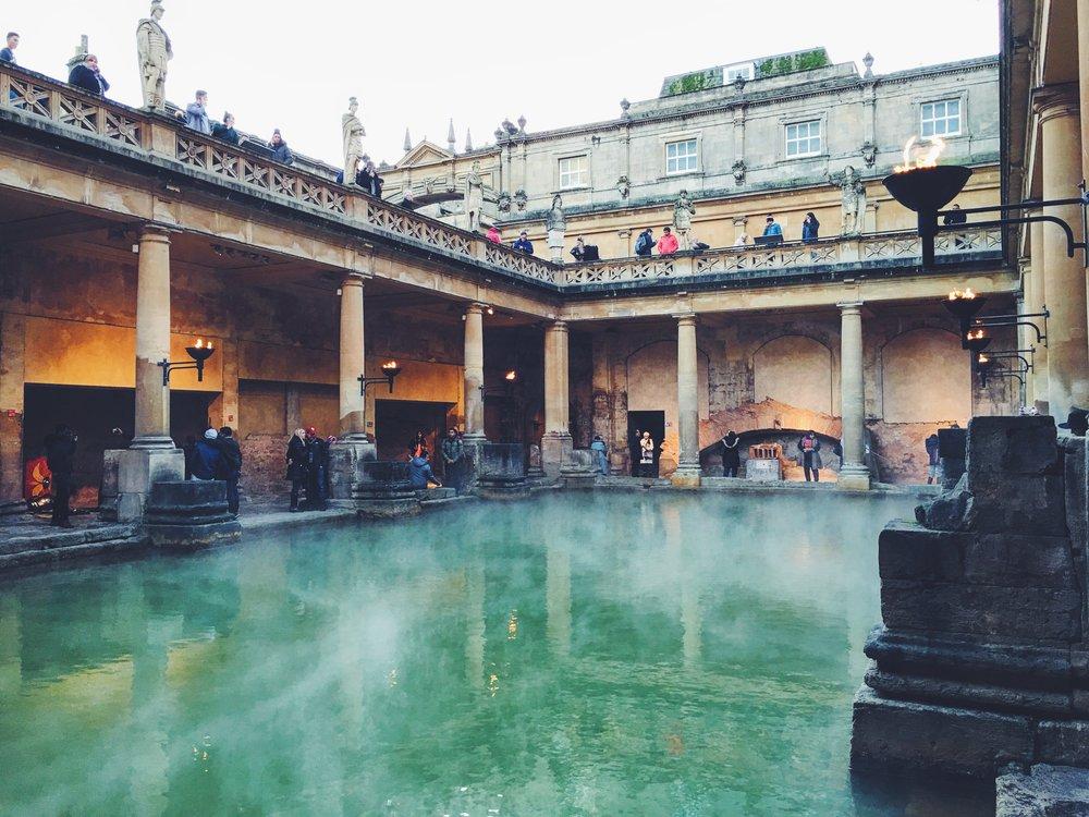 Ancient Roman Baths, Bath