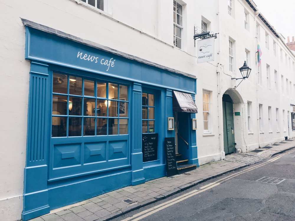 Oxford's News Cafe