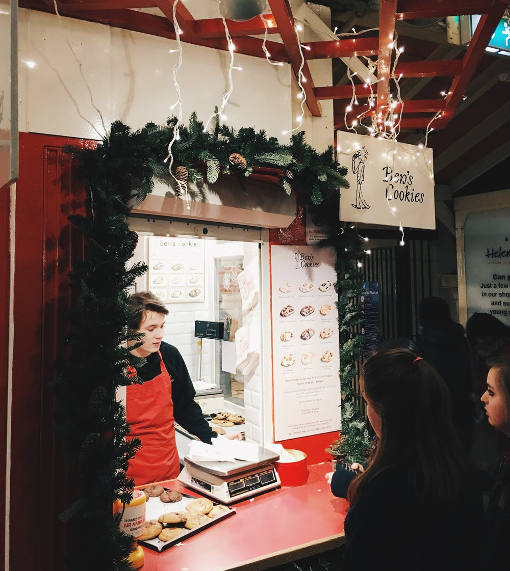 Ben's Cookies, The Covered Market, Oxford
