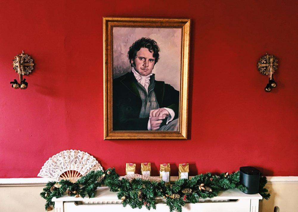 Regency Tea Room at the Jane Austen Centre, Bath