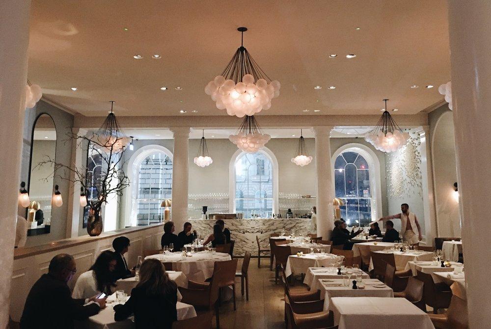 Inside Spring Restaurant, London