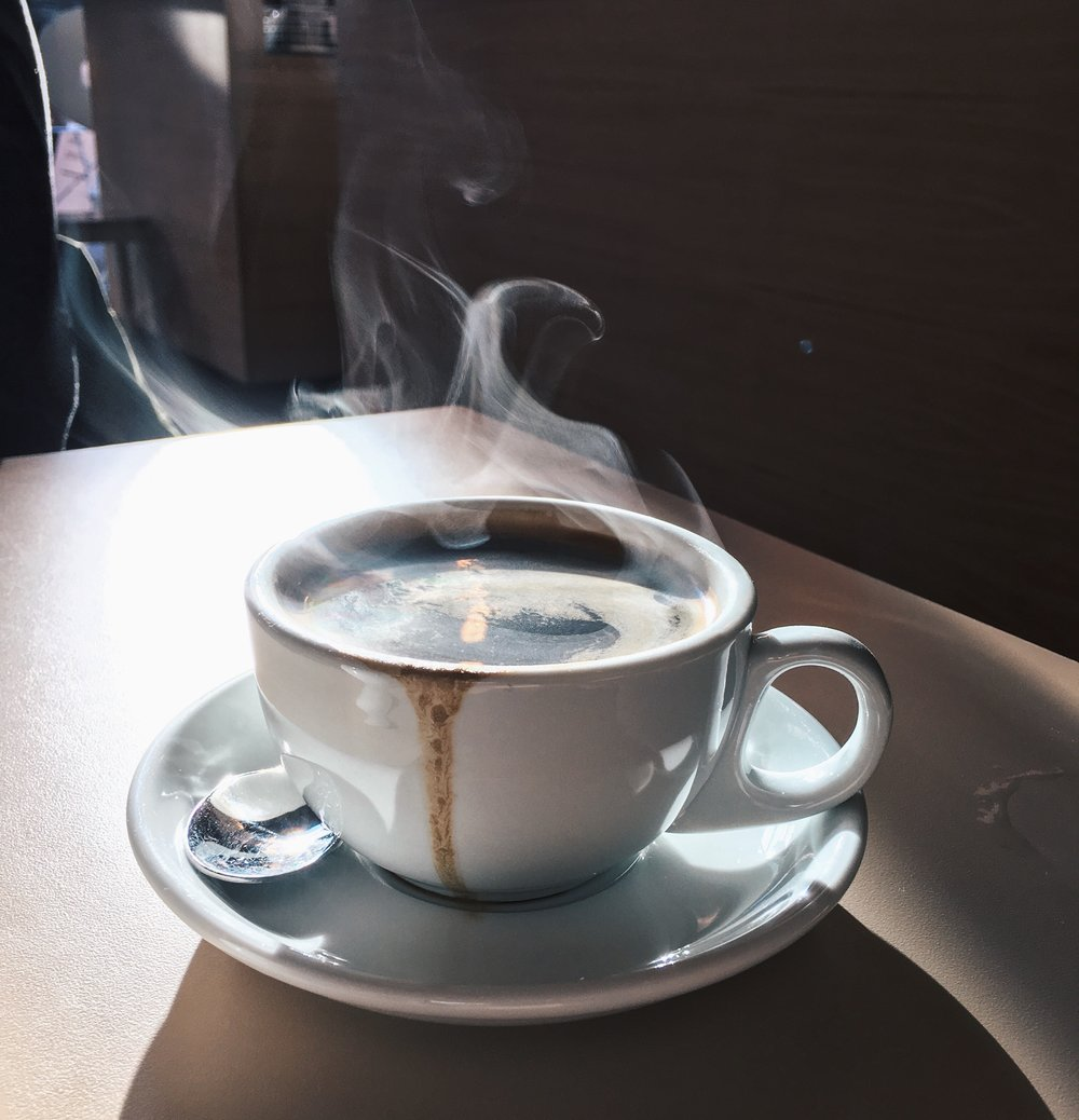 Epic steamy coffee at Where the Pancakes Are, London