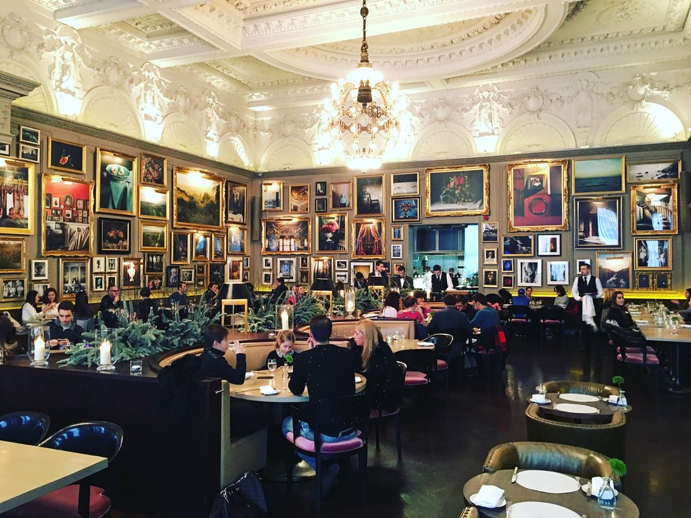 Inside Berners Tavern, London