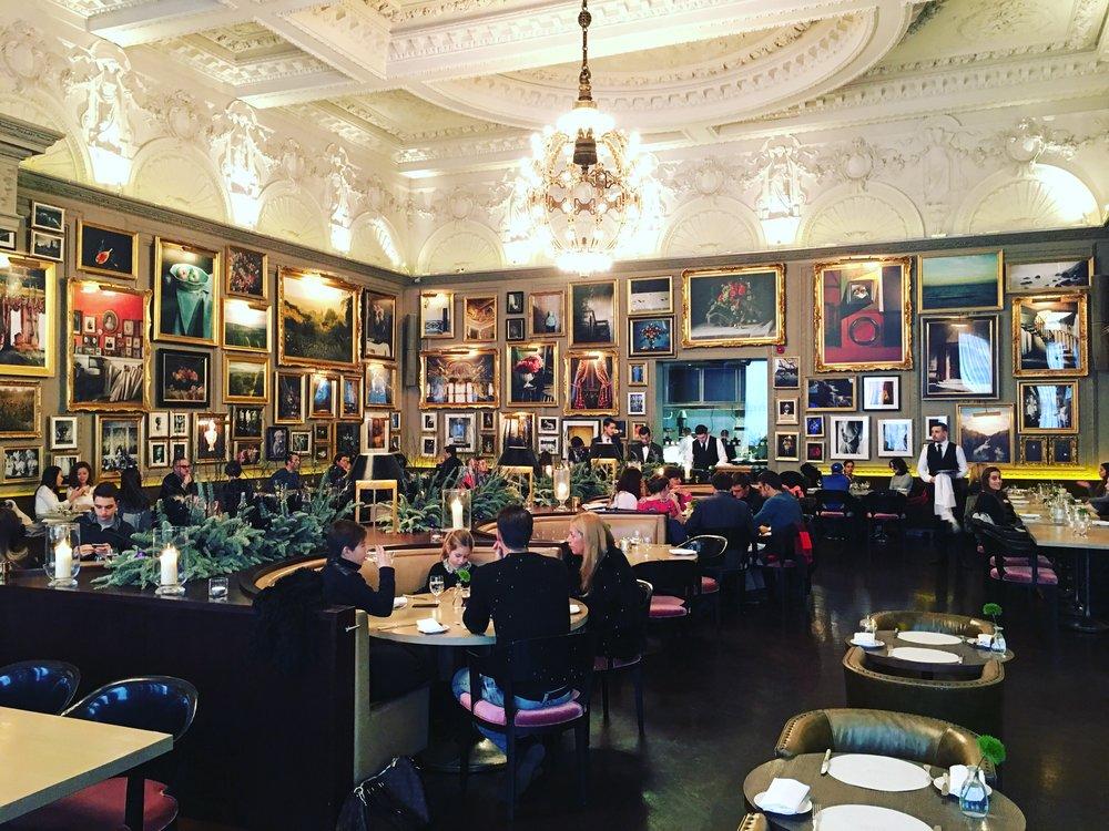 Inside Berners Tavern, London
