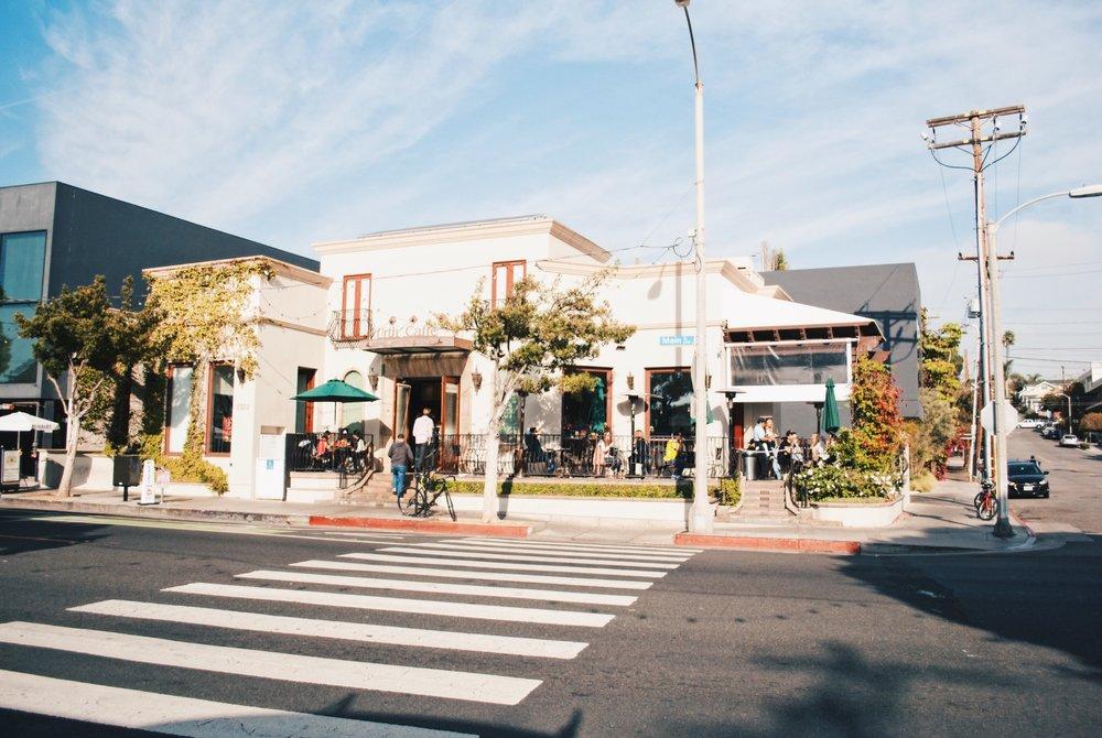 Urth Caffé, Santa Monica, CA